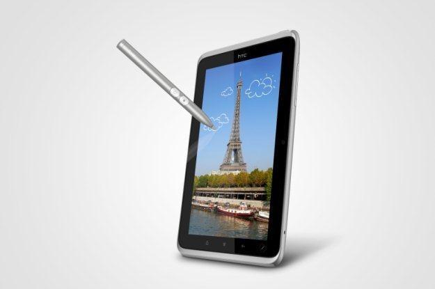 HTC Flyer ze specjalnym cyfrowym rysikiem. Unikalne rozwiązanie na rynku tabletów /materiały prasowe