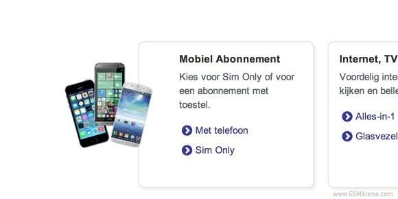 HTC One (M8) z Windows Phone (i inne telefony) pokazane na stronie holenderskiego operatora Telfort. /Komórkomania.pl