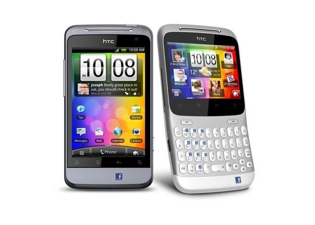 HTC Salsa oraz ChaCha - pierwsze Facebookowe smartfony /materiały prasowe