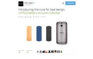 HTC śmieje się z Samsunga Galaxy S5