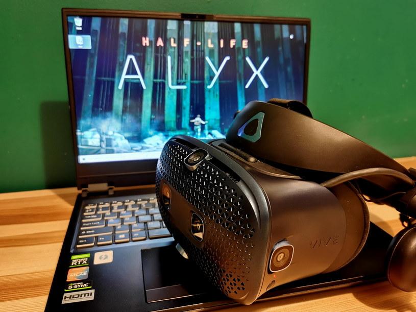 HTC Vive Cosmos i Half Life Alyx /INTERIA.PL