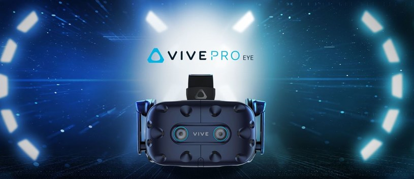 HTC VIVE Pro Eye /materiały prasowe