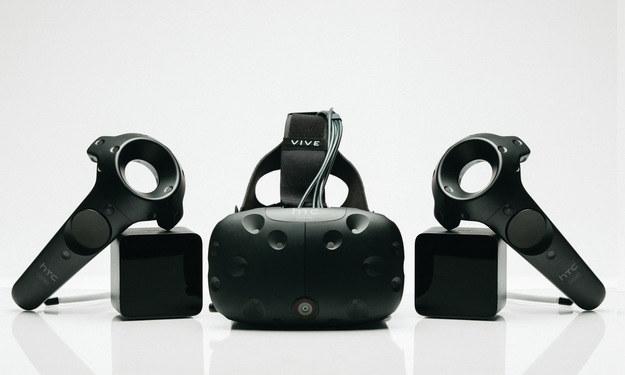 HTC Vive /materiały prasowe