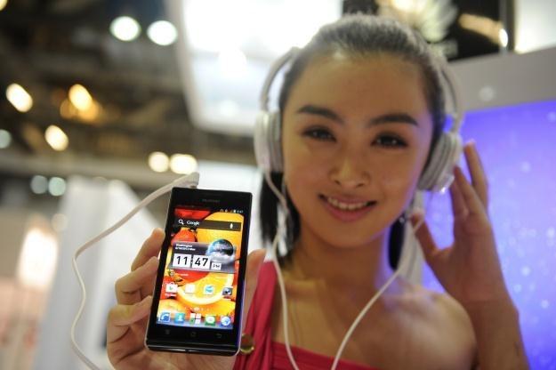 Huawei Ascend P1 - godny konkurent Galaxy S II i najlepszy smartfon ze stajni Huawei /AFP