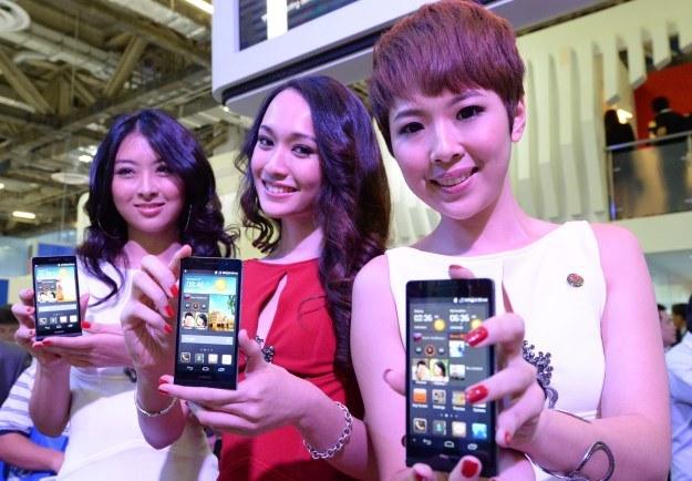 Huawei Ascend P6 kosztuje zaledwie 1600 zł /AFP
