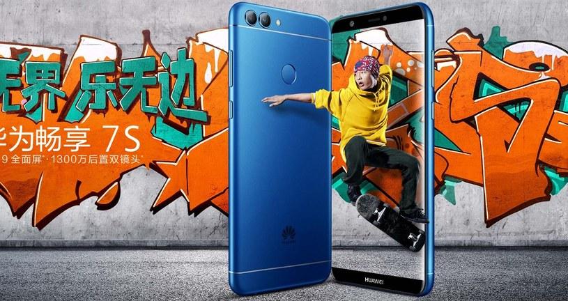 Huawei Enjoy 7S na razie jest dostępny tylko w Chinach /materiały prasowe
