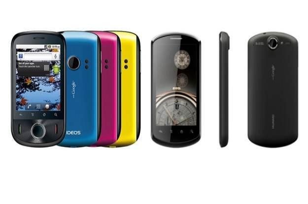 Huawei Ideos U8150 i Huawei Ideos X5 /materiały prasowe