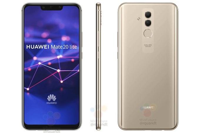 Huawei Mate 20 Lite / fot. GSMArena /materiał zewnętrzny