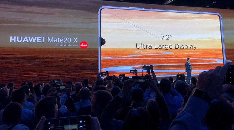 Huawei Mate 20X /INTERIA.PL