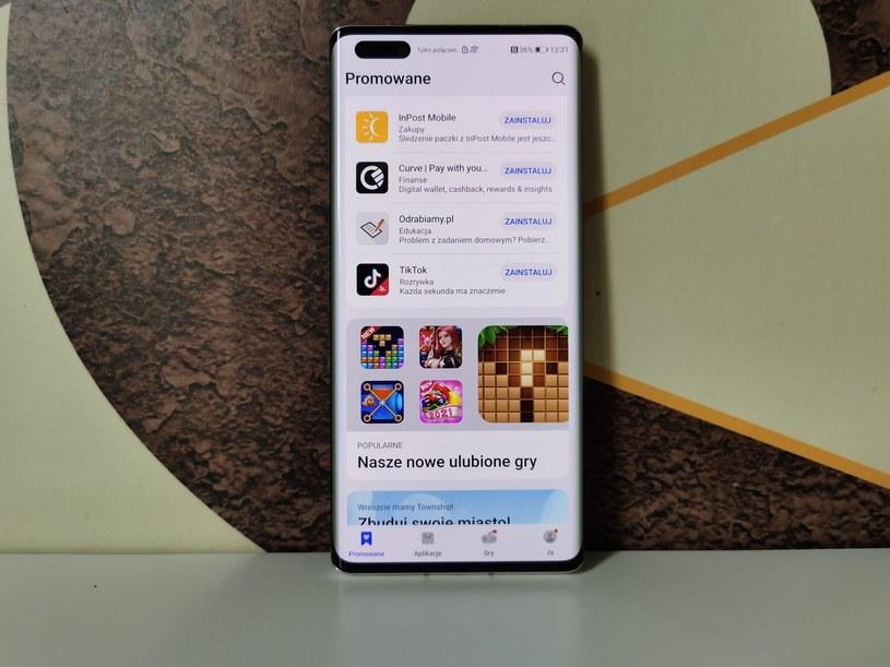 Huawei Mate 40 Pro – jeden z najlepszych smartfonów do korzystania z AppGallery /INTERIA.PL