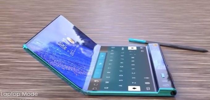 Huawei Mate X2 / fot. GizmoChina /materiał zewnętrzny