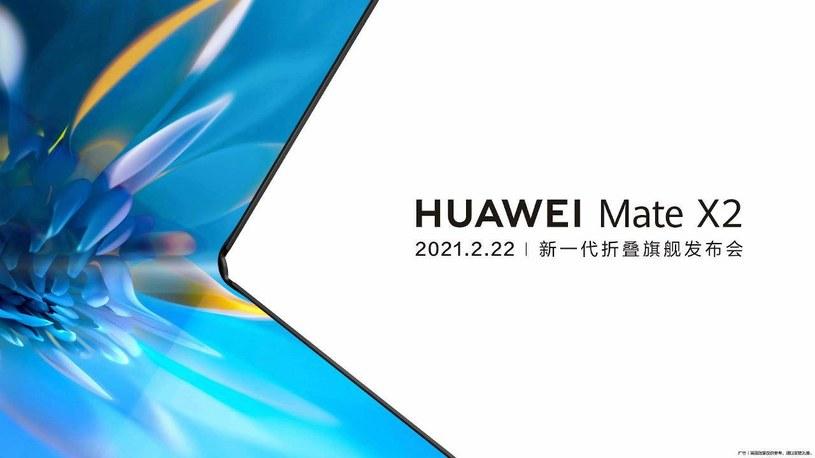 Huawei Mate X2 z premierą w lutym 2021 /materiały prasowe