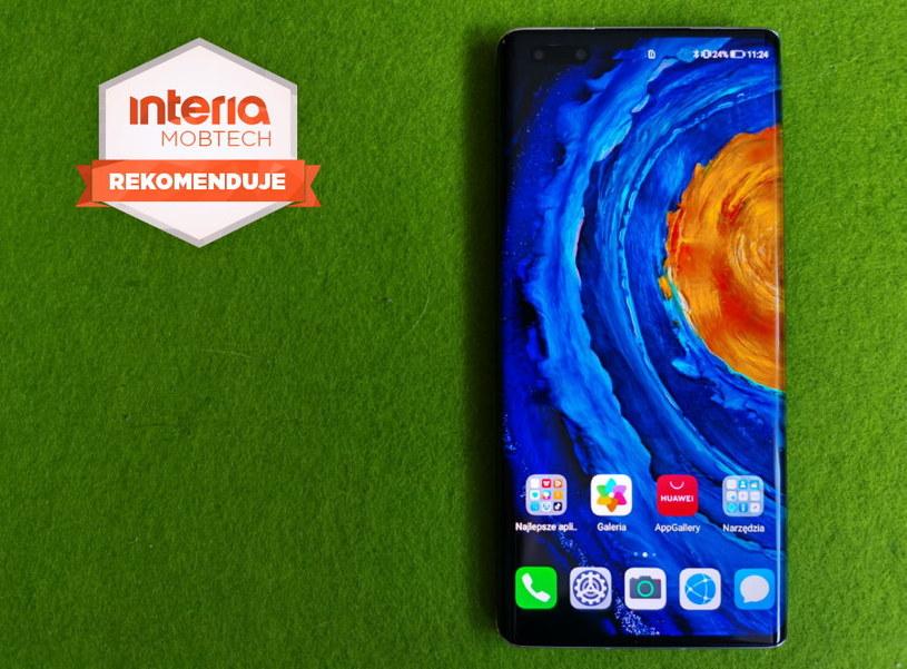 Huawei Mate40 Pro  otrzymuje REKOMENDACJĘ serwisu Interia Mobtech /INTERIA.PL