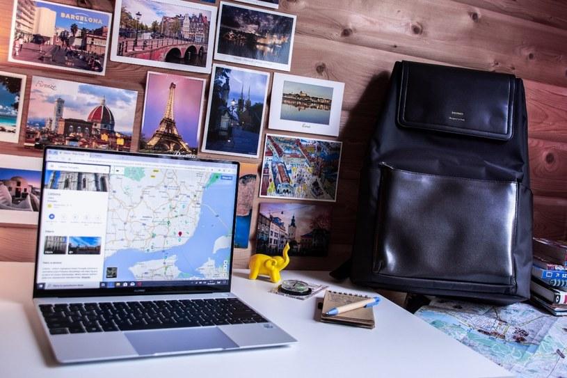 Huawei Matebook X to jeden z najlepszych wyborów dla ludzi, których praca często toczy się nie w biurze, a w drodze /INTERIA.PL