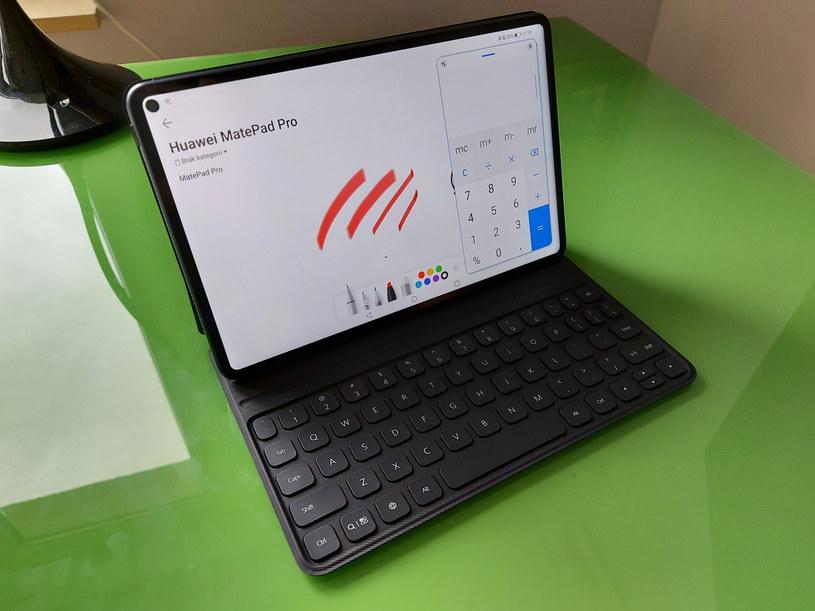 Huawei MatePad Pro - więcej niż jedna aplikacja na ekranie /INTERIA.PL