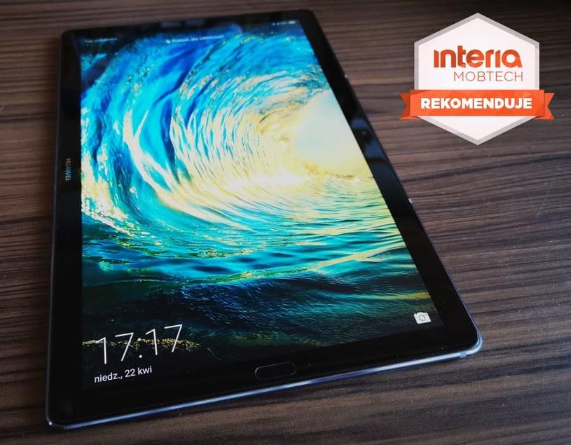 Huawei MediaPad M5 otrzymuje REKOMENDACJĘ serwisu Mobtech Interia /INTERIA.PL
