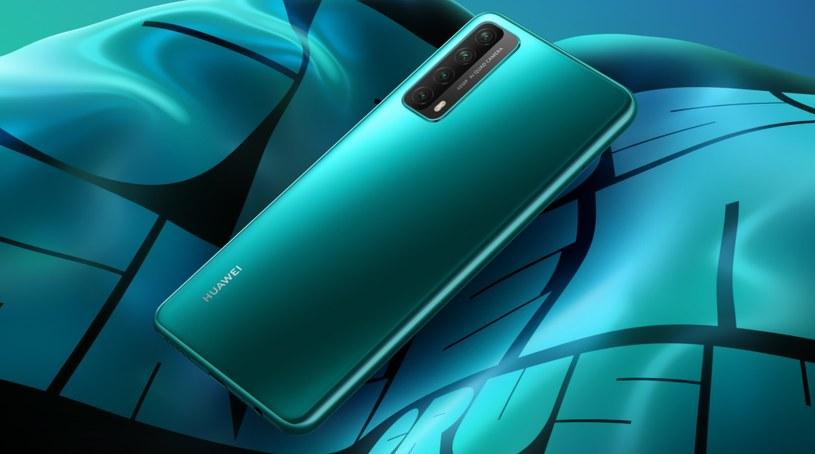 Huawei P smart 2021 z NFC /materiały prasowe