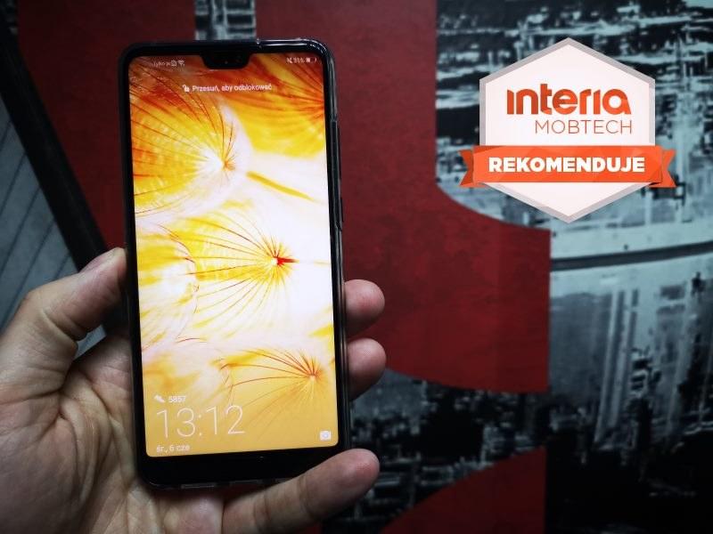 Huawei P20 otrzymuje REKOMENDACJĘ serwisu Interia Mobtech /INTERIA.PL