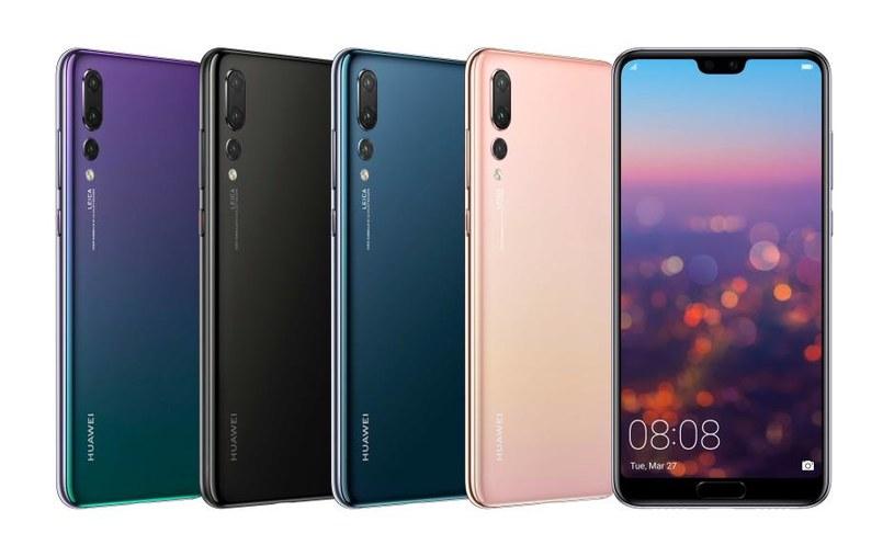 Huawei P20 Pro i Huawei P20 /materiały prasowe