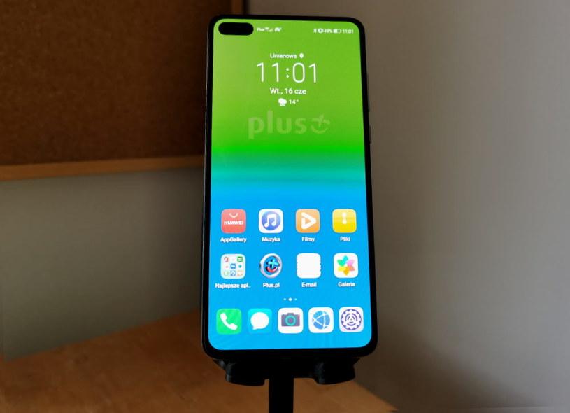 Huawei P40 podłączony do sieci mobilnej Plusa - jak sprawdził się jako modem do osobistego hotspotu? /INTERIA.PL
