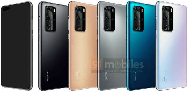 Huawei P40 Pro / fot. AH /materiał zewnętrzny