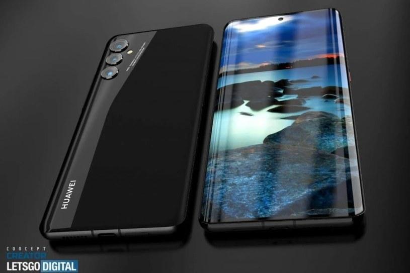Huawei P50 render / fot. Let'sGoDigital /materiał zewnętrzny