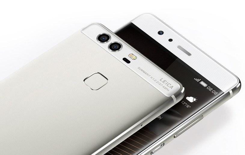 Huawei P9 ma podwójny aparat sygnowany logiem Leica /materiały prasowe