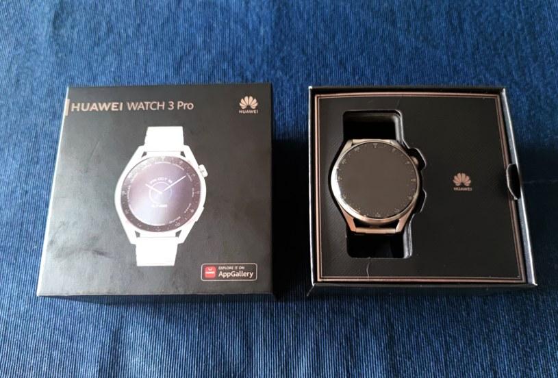 Huawei Watch 3 Pro /INTERIA.PL