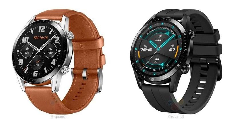 Huawei Watch GT 2 - render prasowy / fot. PhoneArena /materiał zewnętrzny