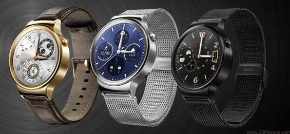 Huawei Watch /materiały prasowe