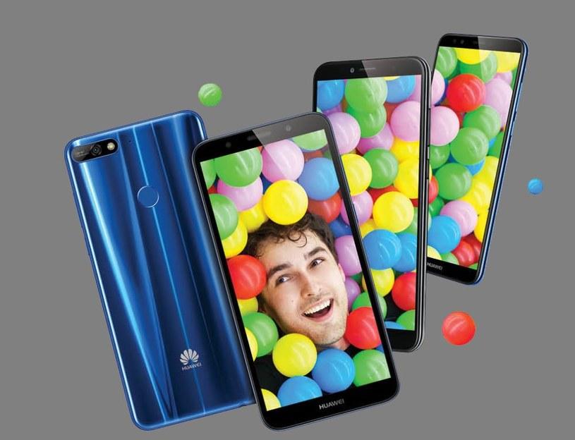 Huawei Y na 2018 rok /materiały prasowe
