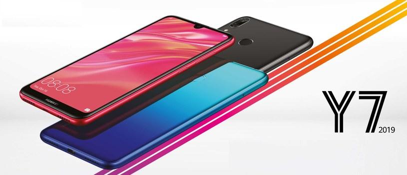 Huawei Y7 2019 /materiały prasowe