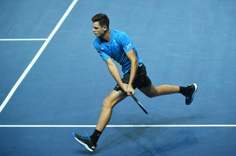 Hubert Hurkacz zagra w turnieju ATP w Metz w obu finałach /Corinne Dubreuil/ABACAPRESS.COM /East News
