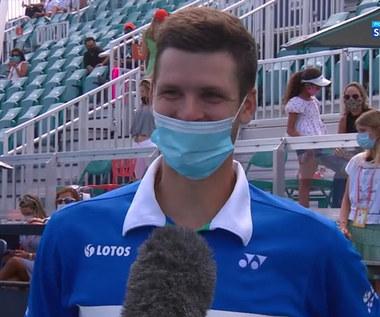 Hubert Hurkacz: Zwycięstwo w turnieju ATP w Miami jest dla mnie czymś niesamowitym (POLSAT SPORT). Wideo