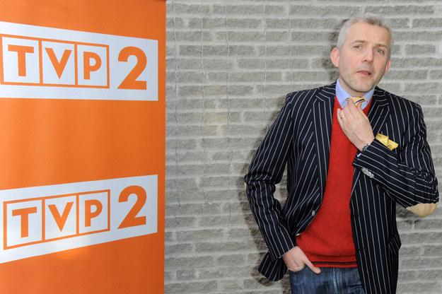 Hubert Urbański ma doświadczenie w prowadzeniu show na żywo /Agencja FORUM