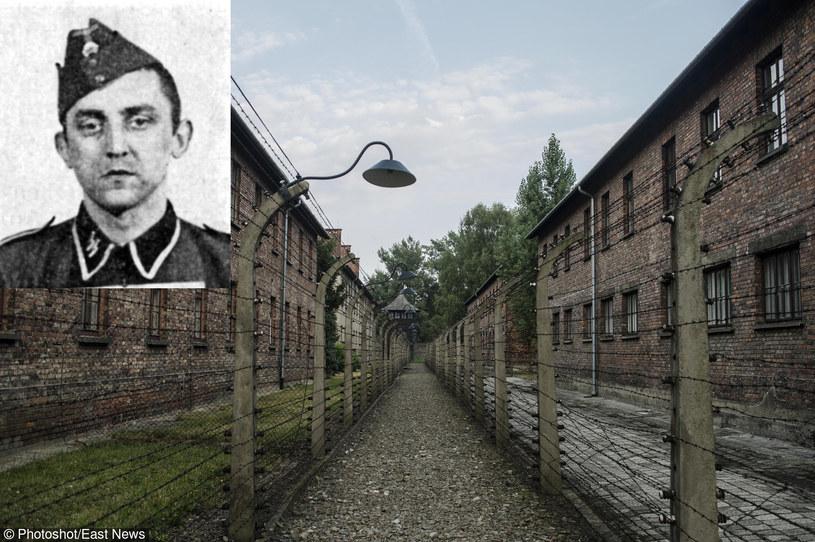 Hubert Zafke, obóz Auschwitz-Birkenau /Photoshot    /Reporter