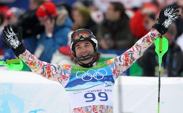 Hubertus von Hohenlohe na igrzyskach w Vancouver /Stephan Jansen /PAP/EPA