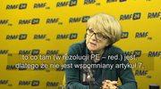 Huebner: Chór osób źle interpretuje rezolucję ws. Polski