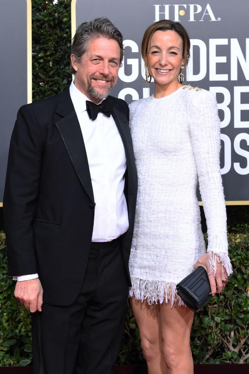 Hugh Grant i Anna Eberstein /East News