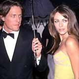 Hugh Grant i Liz Hurley znowu razem? /WENN
