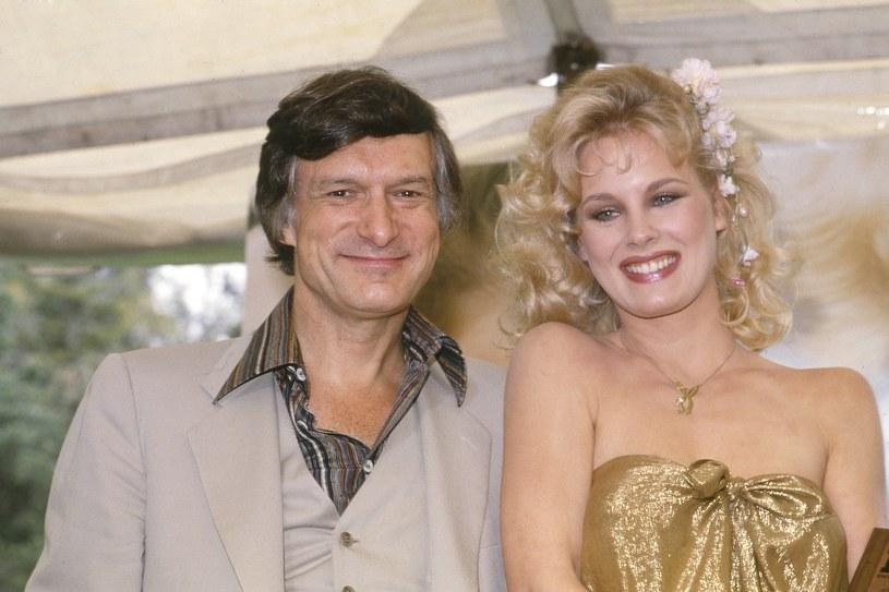 Hugh Hefner i Dorothy Stratten, Playmate 1979 roku /East News