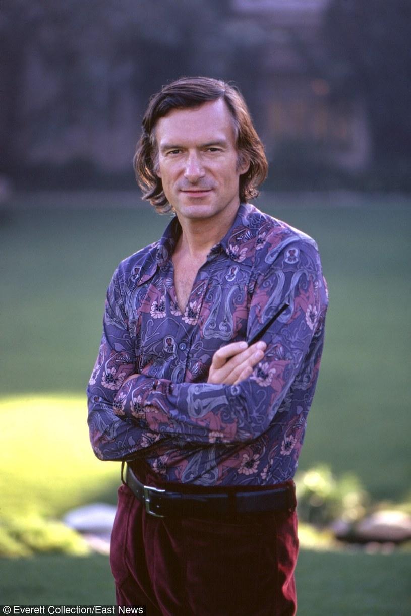 Hugh Hefner w latach 70. XX wieku /John G. Zimmerman Archive/Courtesy Everett Collection /East News