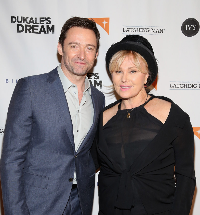 Hugh Jackman i Deborra-Lee Furness /Robin Marchant /Getty Images