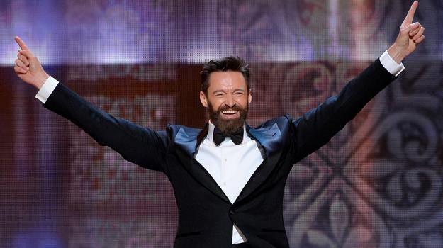 """Hugh Jackman i inne gwiazdy filmu """"Pan"""" podjęły wyzwanie / fot. Theo Wargo /Getty Images"""