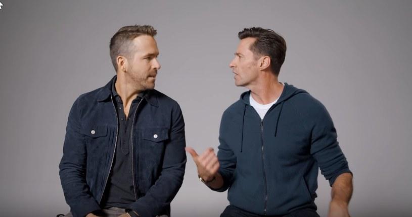 """Hugh Jackman i Ryan Raynolds poznali i zaprzyjaźnili się na planie """"X-Men Geneza: Wolverine"""" /YouTube"""