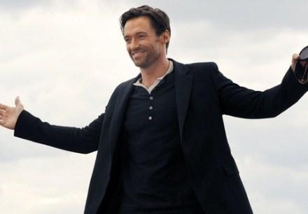 Hugh Jackman jest zakochany w musicalach. / fot. Guillaume Clement /AFP