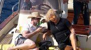 Hugh Jackman na wakacjach z żoną