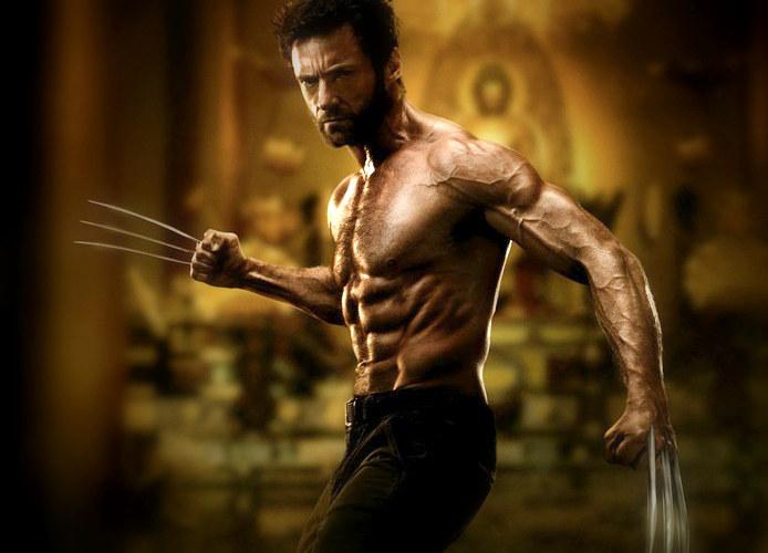 Hugh Jackman wcielający się w rolę mutanta Wolverine'a także musiał zadbać o odpowiedni wygląd granego przez siebie bohatera /East News
