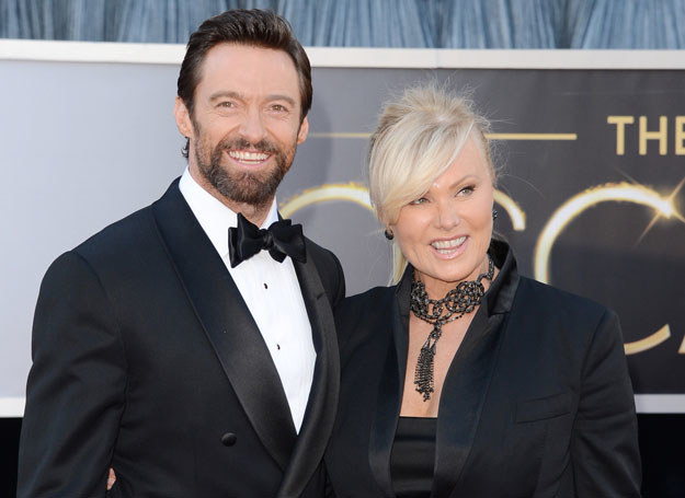 Hugh Jackman z żoną Deborra Lee Furness /Getty Images