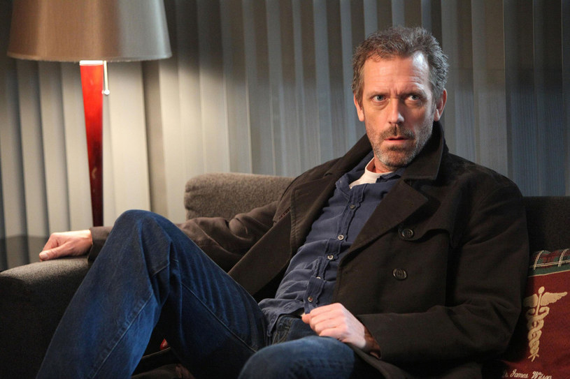 Hugh Laurie jako dr House /East News
